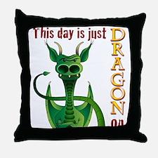 TimeDragonOn_Onsee.jpg Throw Pillow