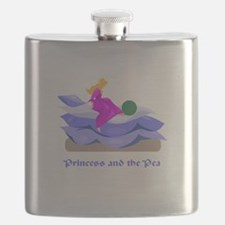 princess and the pea.png Flask