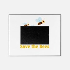save the bees.png Picture Frame