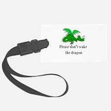 sleepy dragon.png Luggage Tag
