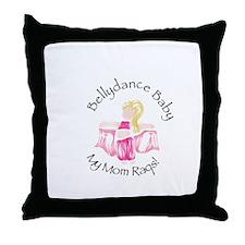Bellydance Baby Girl Throw Pillow
