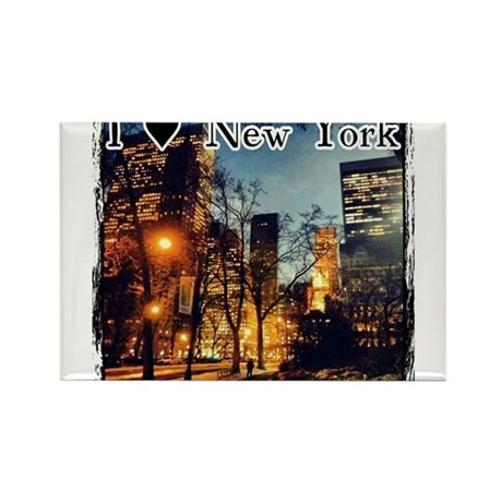 I Heart New York Rectangle Magnet