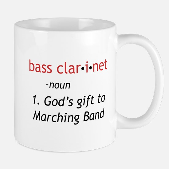 Bass Clarinet Definition Mug