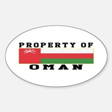Property Of Oman Decal