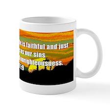 1 John 1:9 Mug