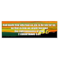 2 Corinthians 5:21 Bumper Bumper Sticker