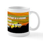 Acts 18:9 Mug