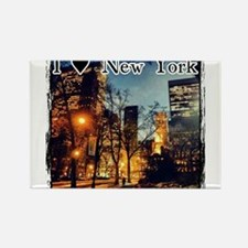 I Heart NYC Rectangle Magnet