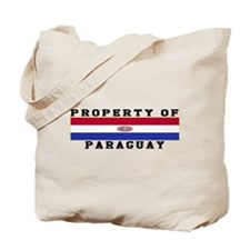 Property Of Paraguay Tote Bag