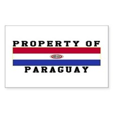 Property Of Paraguay Decal
