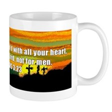 Colossians 3:23 Mug