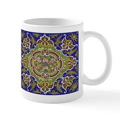 Russian Blue Folkart Mug
