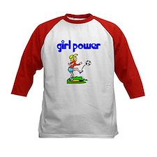 Girl Power Soccer Kids Athletic Jersey