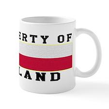 Property Of Poland Mug