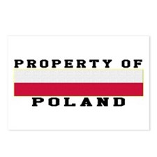Property Of Poland Postcards (Package of 8)