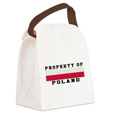 Property Of Poland Canvas Lunch Bag