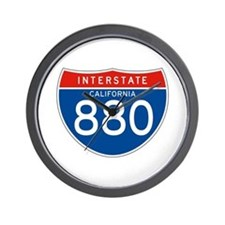 Interstate 880 - CA Wall Clock