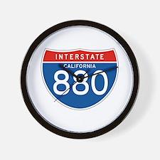 Interstate 880 - CA Wall Clock