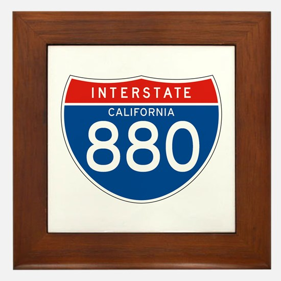Interstate 880 - CA Framed Tile