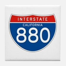 Interstate 880 - CA Tile Coaster
