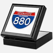 Interstate 880 - CA Keepsake Box