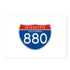 Interstate 880 - CA Postcards (Package of 8)