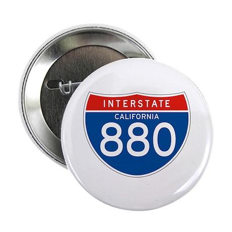 "Interstate 880 - CA 2.25"" Button (10 pack)"