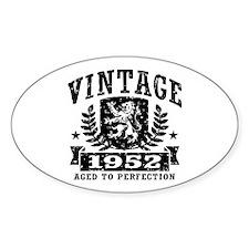 Vintage 1952 Decal