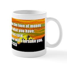 Hebrews 13:5 Mug