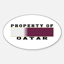 Property Of Qatar Decal