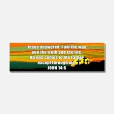 John 14:6 Car Magnet 10 x 3