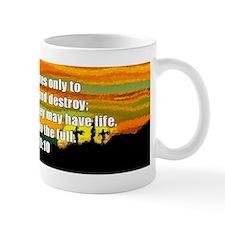 John 10:10 Mug