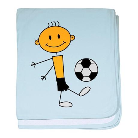 soccer_boy baby blanket
