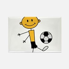 soccer_boy Rectangle Magnet