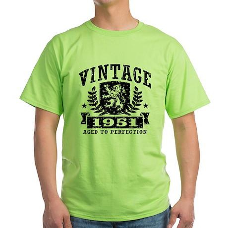 Vintage 1951 Green T-Shirt
