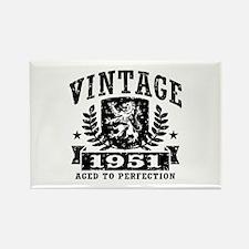 Vintage 1951 Rectangle Magnet