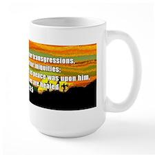 Isaiah 53:5 Mug