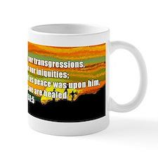 Isaiah 53:5 Small Mug