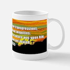 Isaiah 53:5 Small Small Mug