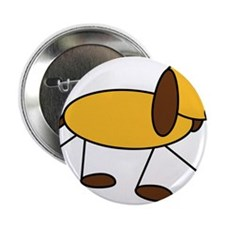 "dog 2.25"" Button"