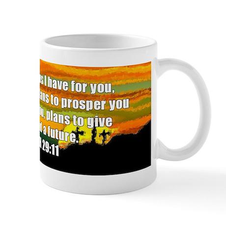 Jeremiah 29:11 Mug