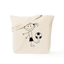 soccer_girl Tote Bag