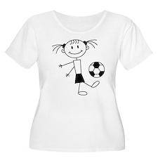 soccer_girl Plus Size T-Shirt