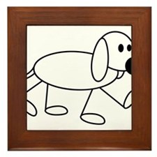 dog Framed Tile
