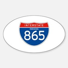 Interstate 865 - IN Oval Decal