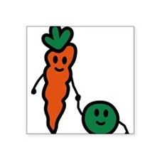 carrot_and_pea Sticker