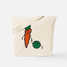 carrot_and_pea Tote Bag