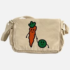 carrot_and_pea Messenger Bag