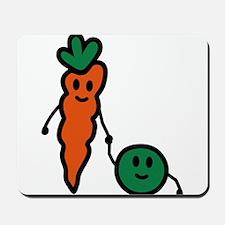 carrot_and_pea Mousepad