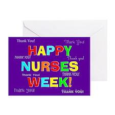 Happy Nurses week CP 2 Greeting Cards (Pk of 10)